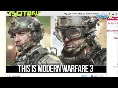 Call of Duty Modern Warfare 3 Trailer Debuts
