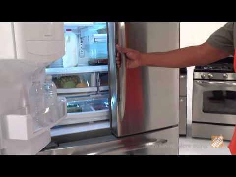 GE Profile Counter Depth French Door Refrigerator - The Home Depot