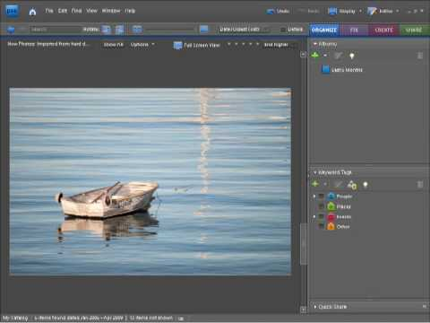 Photoshop Elements 7 Tutorial Video What's Covered