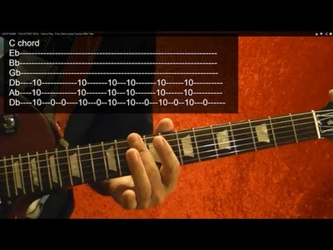 HELL'S BELLS ( Guitar Lesson ) by AC/DC ( Part 1 of 2 ) With Tabs