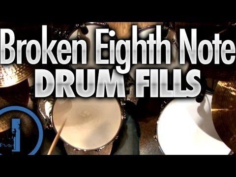 Broken Eighth Note Drum Fills