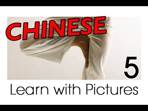 Learn Chinese - Chinese Body Parts Vocabulary