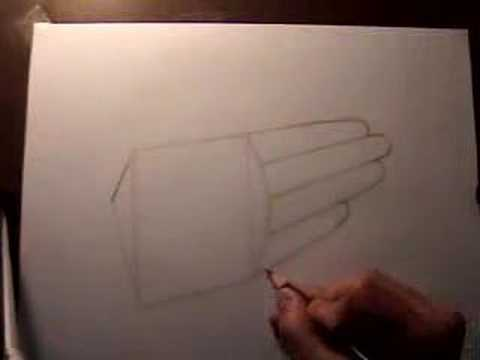 How to Draw a Hand (With Spoken Explanation)