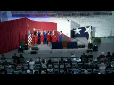 Star-Spangled Banner Gallery Dedication - Synced