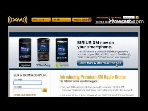 How to Get XM Radio