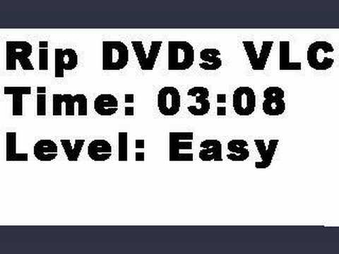 Rip DVDs Directly From VLC Player