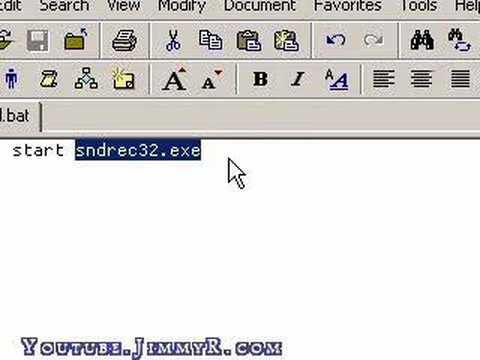 Introduction to Windows Batch Files (.bat files)