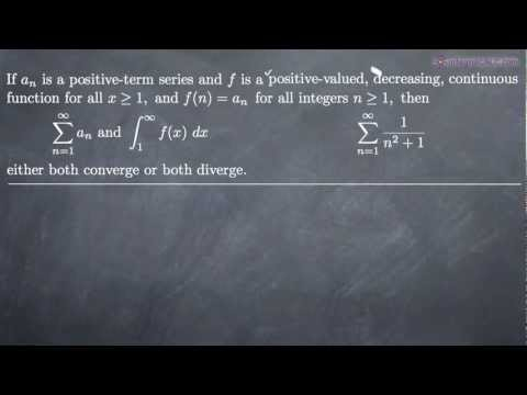 Integral Test for Convergence