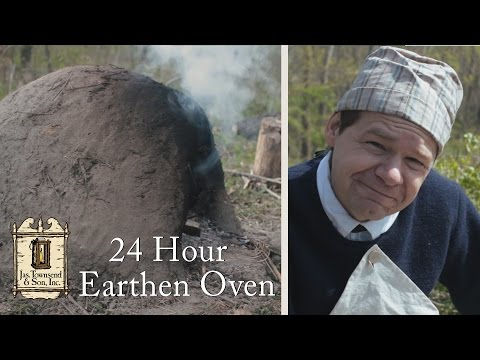Make and Use an Earthen Oven in 24 hours - 18th Century Cooking Series