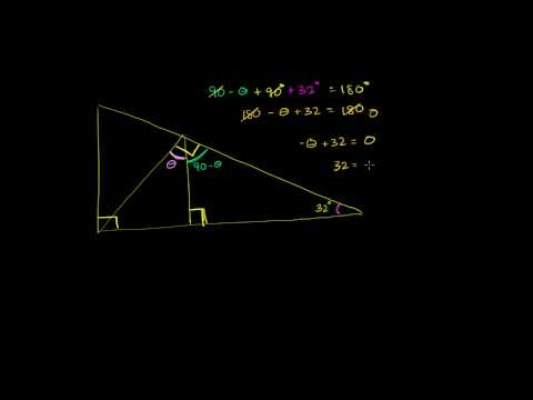 Triangle Angle Example 3