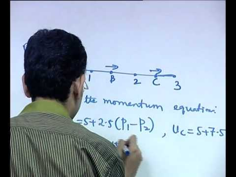 Mod-01 Lec-37 Discretization of Navier Stokes Equations ( Contd. )