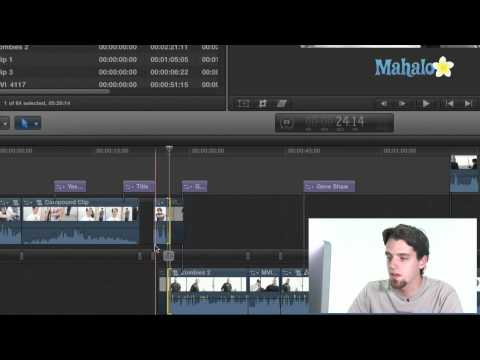 Using the New Precision Inline Editor - Final Cut Pro X