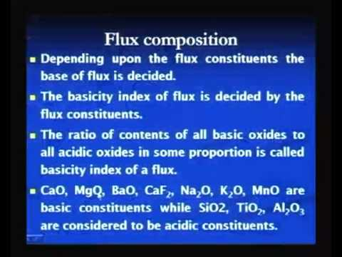 Mod-3 Lec-8 Submerged Arc Welding