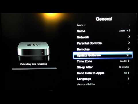 How to Update Apple TV