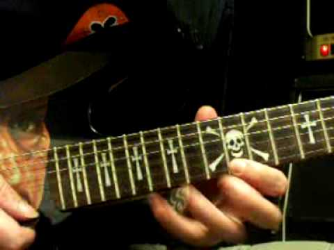 Two Weeks arpeggio guitar lesson