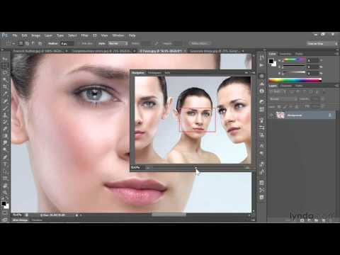Photoshop CS6: How to use the Navigator panel | lynda.com