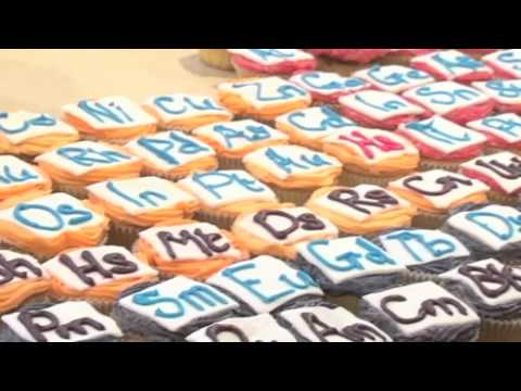 Periodic Table of Cupcakes - Periodic Table of Videos