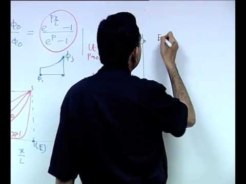 Mod-01 Lec-32 Discretization of Convection- Diffusion Equations: A Finite Volume Approach (Contd.)