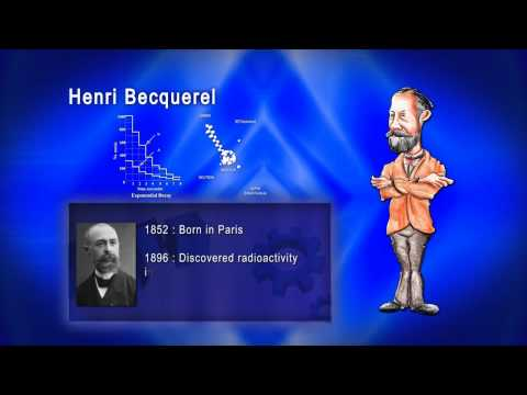 Top 100 Greatest Scientist in History For Kids(Preschool) - HENRI BECQUEREL