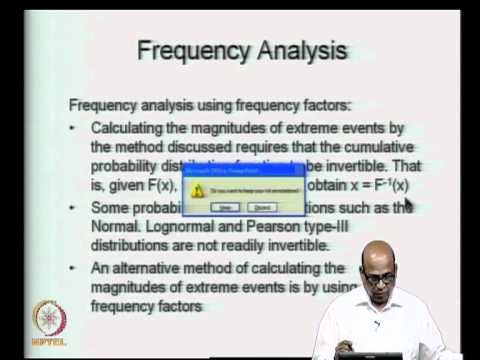 Mod-06 Lec-25 Frequency Analysis-II