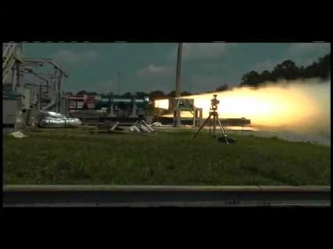 Sub-Scale Rocket Test Saves Time, Money