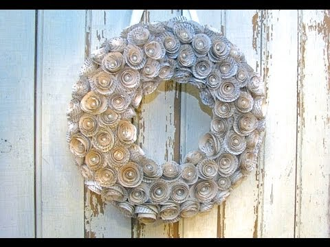 Novel Wreath Tutorial