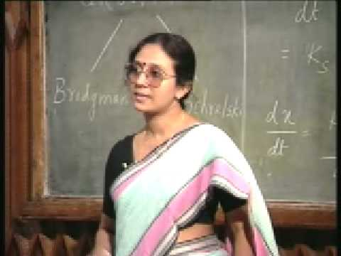 Lecture - 6 Defects in Crystal + Crystal growth