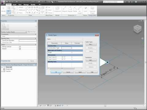 Autodesk Revit Architecture 2011 Family Editor Enhancements