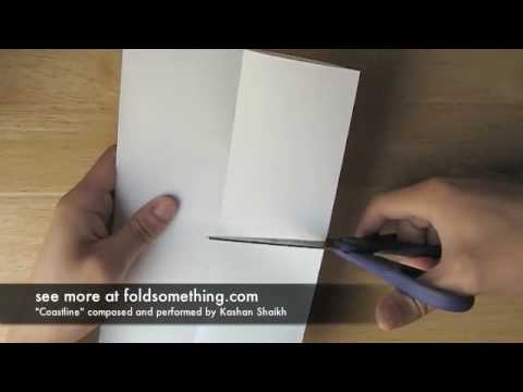 How to make a booklet from one piece of paper