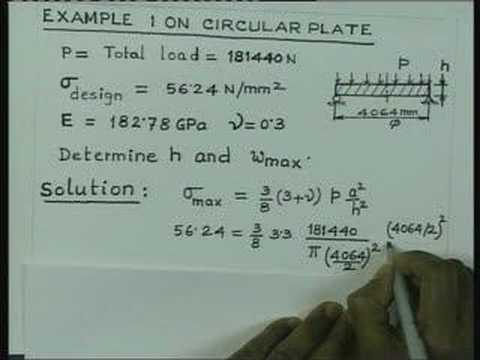Lecture - 37 Advanced Strength of Materials