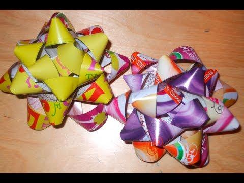 DIY: Magazine Paper Bows