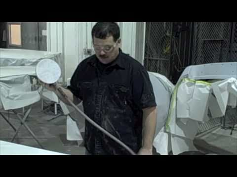 DIY Buffing Part 1 - How To Sand Auto Paint Before Buffing With Polish - Paint Refinish Training