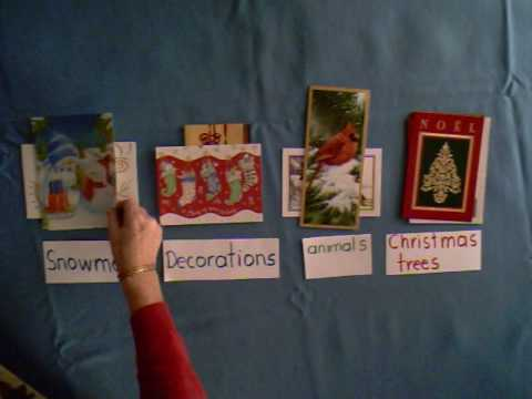 Christmas Cards - Classification Game
