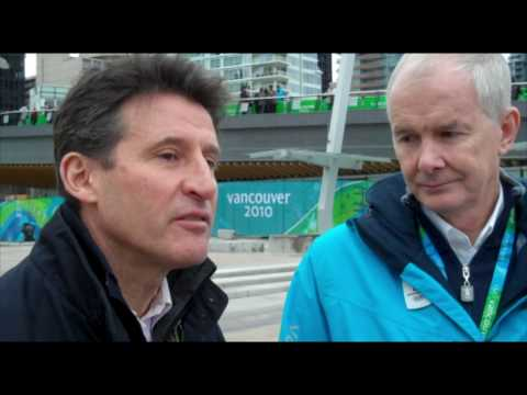 Seb Coe reflects on the Vancouver 2010 Olympic Winter Games - London 2012
