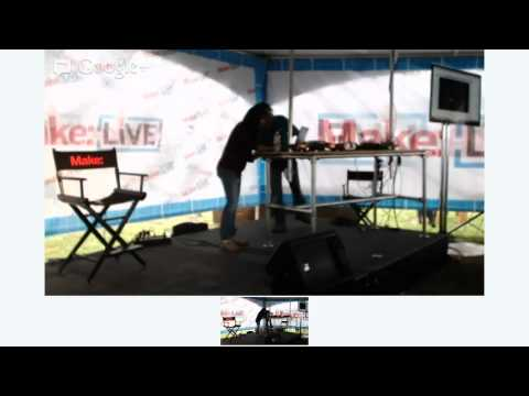 Converting RC Toys to Programmable Toys - Ramya Swamy on Make: Live Stage at World Maker Faire 2012