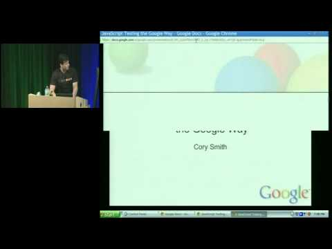 NYC Tech Talk Series: Javascript Testing at Google Scale