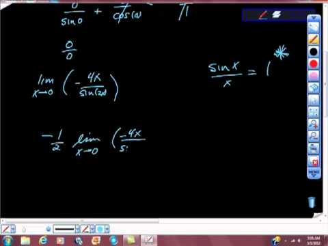AP Calculus AB Special Limits Practice Problem sin(x)/x