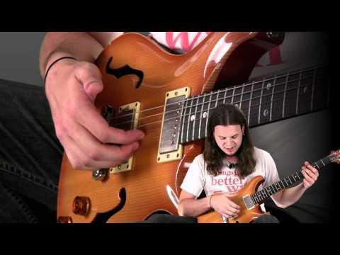 Percussive Chord Comping A la John Mayer By Emil Werstler