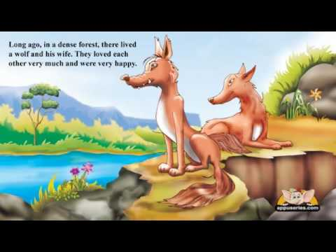 English Talking Book - The Otters and the Wolf