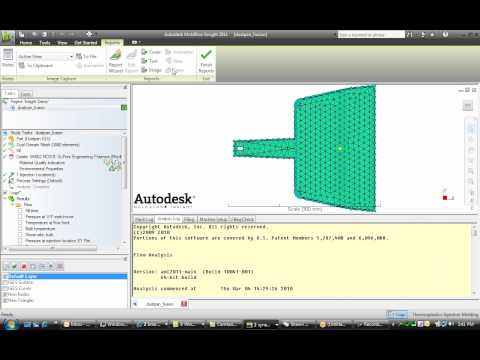 Navigating the Autodesk Moldflow 2011 User Interface