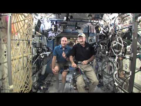 Station Crew Discusses Life in Space with Texas Students