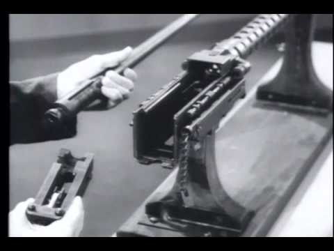 Tank M73 Machine Gun 7.62MM - Part 1 Operation, Disassembly and Assembly