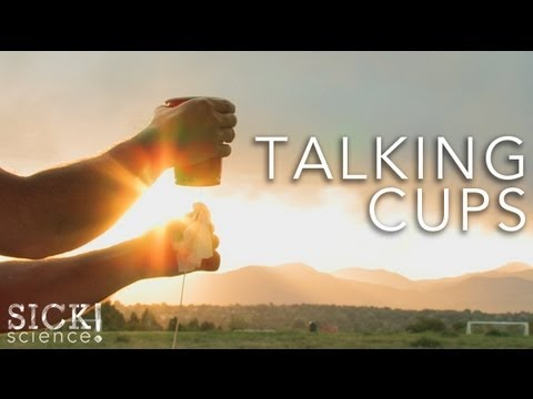 Talking Cups - Sick Science! #094