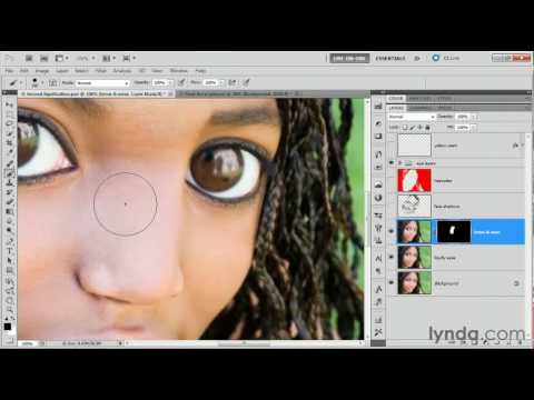 Photoshop CS5: Painting with a layer mask | lynda.com tutorial