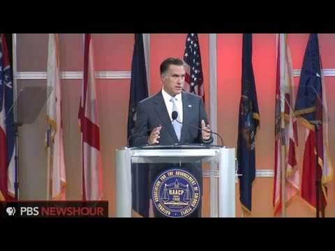 Watch Mitt Romney's Full Speech at NAACP National Convention