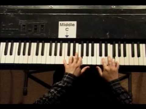 Piano Lesson - Kohler's Very Easiest Piano Studies #2