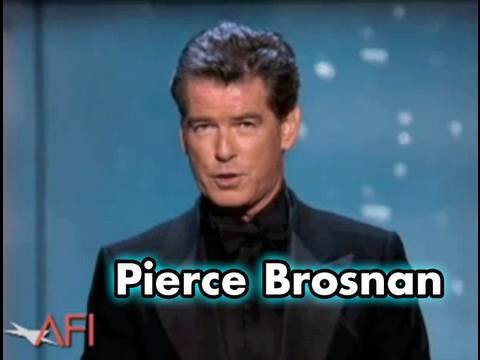 Pierce Brosnan Salutes Sean Connery at the AFI Life Achievement Award