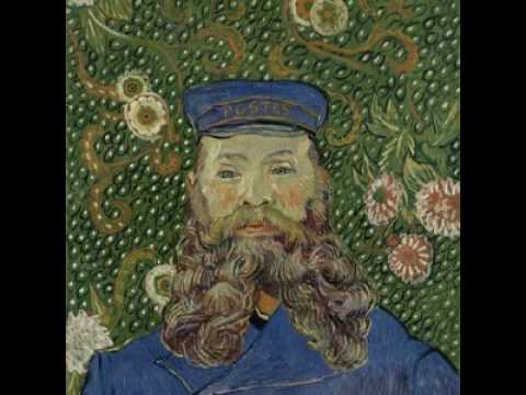 Van Gogh, Portrait of Joseph Roulin, 1889
