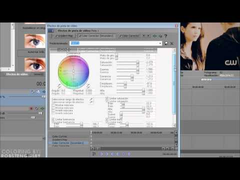 Sony Vegas Tutorial II Coloring type #64 [TVD]