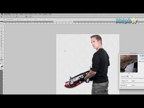Photoshop Tutorial - Making Plastic Look Like Metal